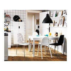 BJURSTA Table extensible, blanc - IKEA