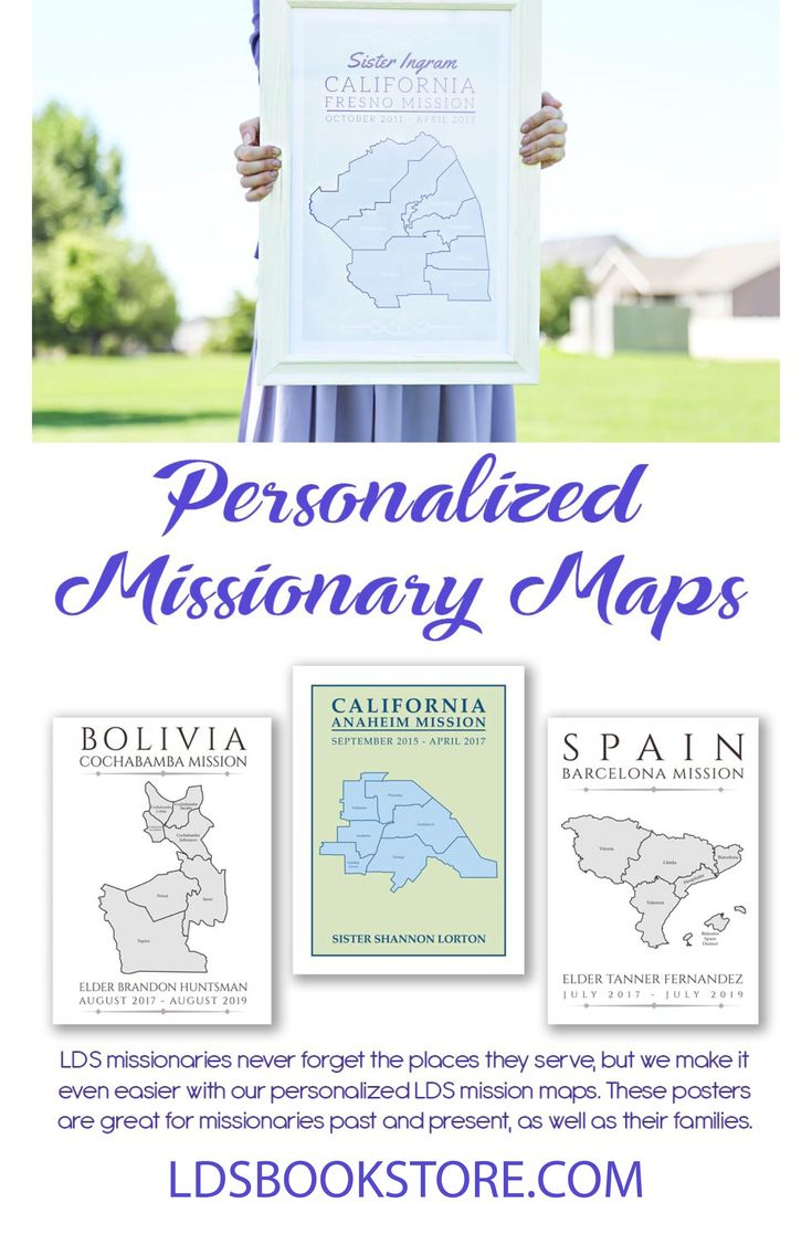 LDS missionaries often form a deep bond with the land and the people they serve. Now, you can have a beautiful and personalized keepsake of your mission area. We carry individual LDS mission area maps that can be personalized with your mission area, mission name, and more. We also carry large world maps that are perfect for church bulletin boards or family homes. Each poster is professionally printed and features numerous designs and colors. If you're looking for a unique way to celebrate an…