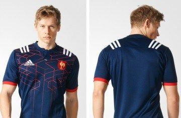France Rugby 2016/17 adidas Home Kit