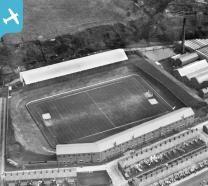 Ewood Park football stadium, Ewood, 1928