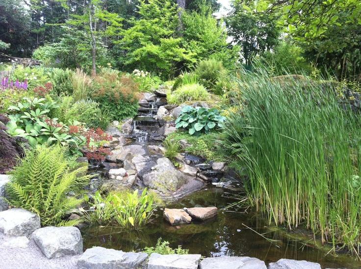 Trädgårdsvattenfall
