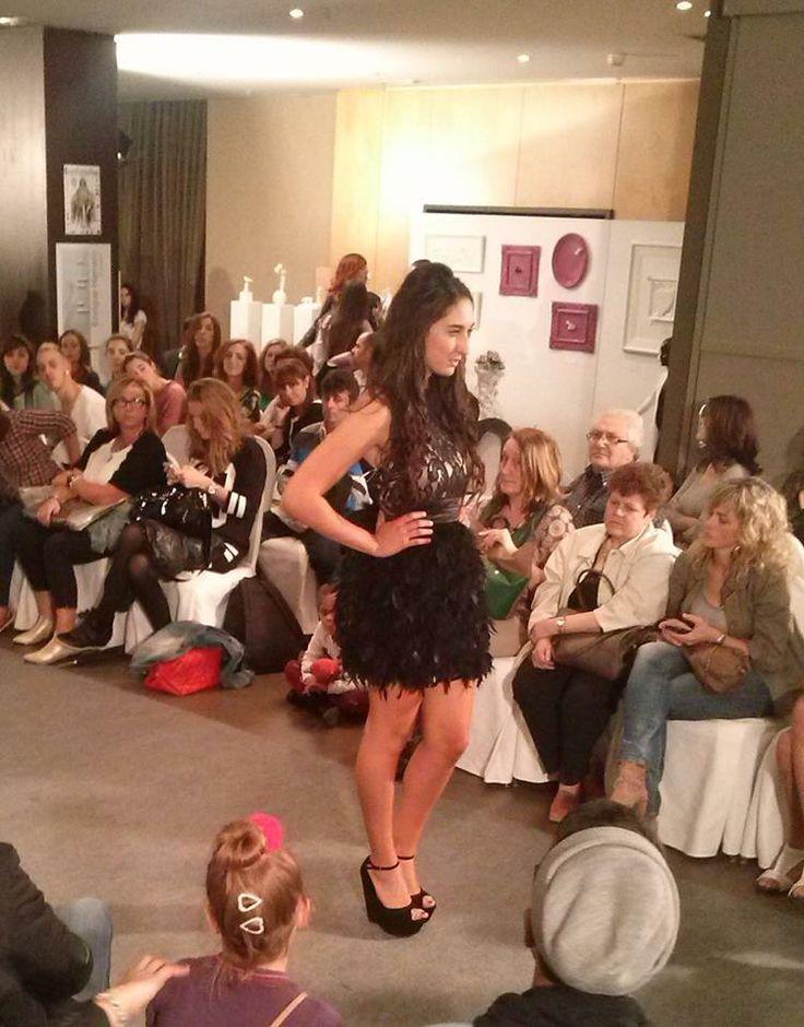 Uno de los modelos presentados en la Oviedo Fashion Week.