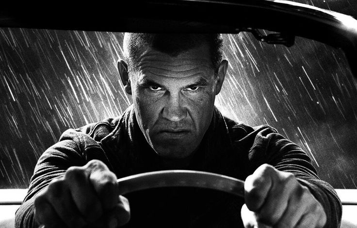 Josh Brolin as Dwight in the first image from Sin City: A Dame to Kill For