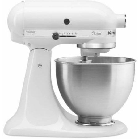 Free 2-day shipping. Buy KitchenAid Classic 4.5-Qt Stand Mixer, K45SS at Walmart.com