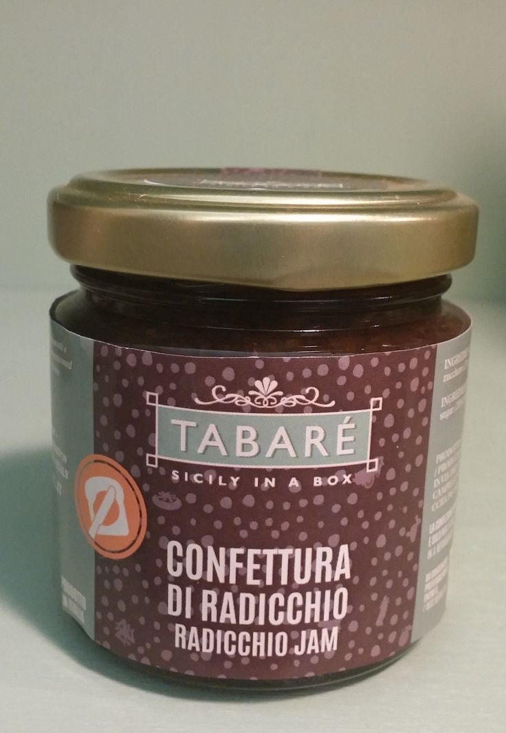 Radicchio jam  Try it as aged and medium-ages cheeses accompaniment. #radicchio #jam #cheese #aperitiv #gourmet #sicilianproducts