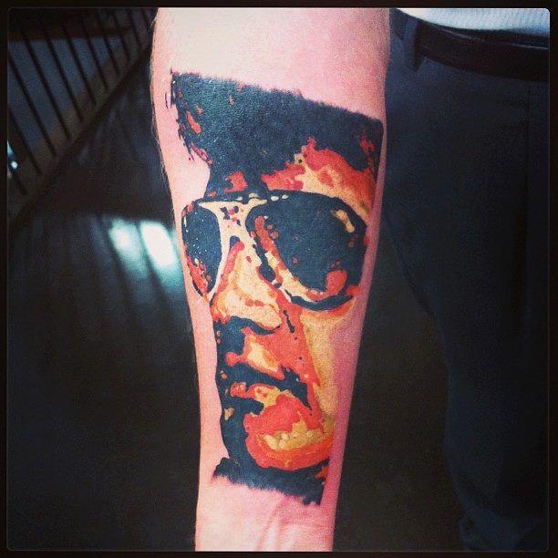 Tattoo Ideas Elvis: Elvis Tattoo Done By Tattoo Artist Betty B At Adrenaline