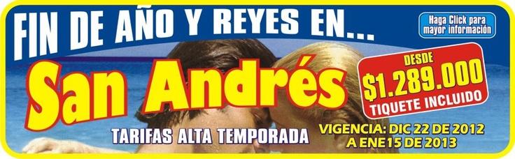 Promoción a San Andres islas, Colombia
