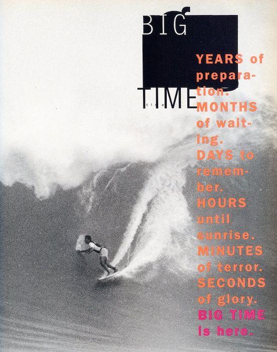 SURFING   Magazine page, 1991