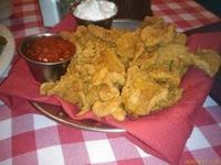 Rocky Mountain Oysters. Photo by Chef #1000608  In Colorado this is what is left after many ranchers castrate their young calves!  Many times they're just roasted over the campfire.  This is a good recipe if your down at the beach at night.  Enjoy something unusual from the States!