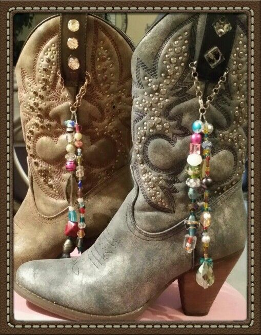 Boot bling jewerly... I hand make each set with fabulous glass beads.   https://m.facebook.com/bootblingjewerly