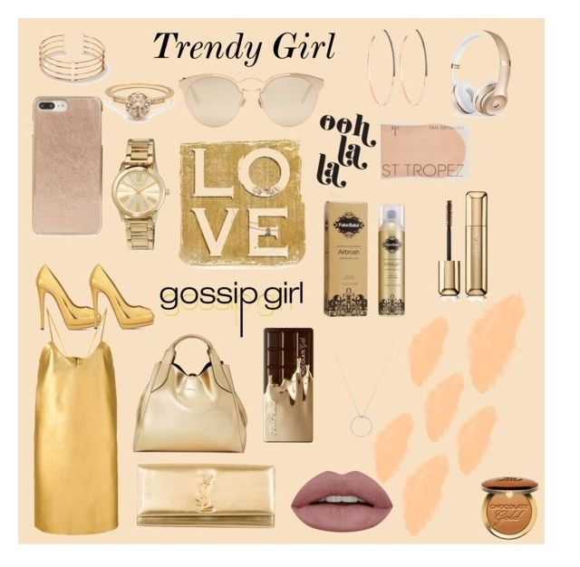 """""""Trendy Girl"""" by marinafmorgan ❤ liked on Polyvore featuring Manokhi, Christian Dior, Yves Saint Laurent, Lanvin, Too Faced Cosmetics, Kate Spade, Giuseppe Zanotti, Alex and Ani, MICHAEL Michael Kors and Roberto Coin"""