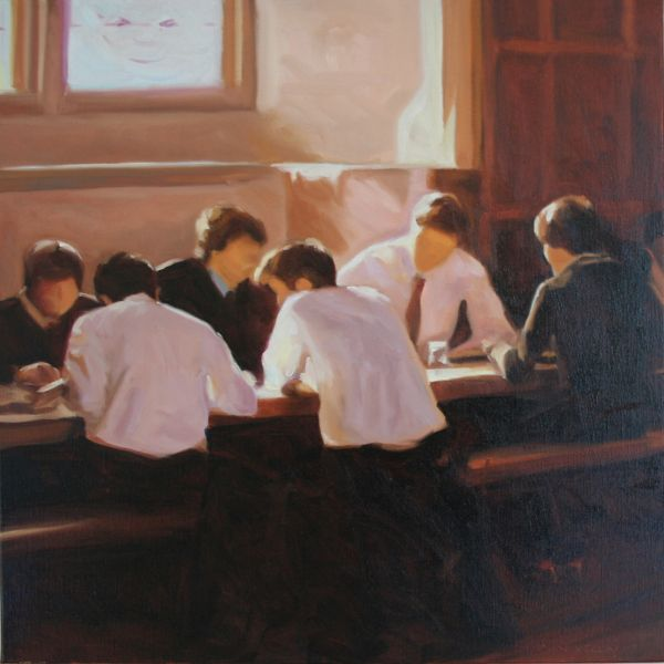 Iain Vellacott Lunch in College Hall