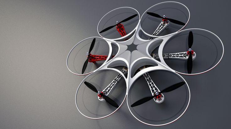 Naza Hexacopter - 3D - no nit fertig - CGForum
