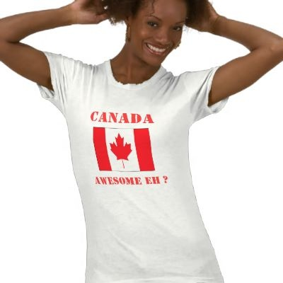 Canada Day T-shirt by writepeople