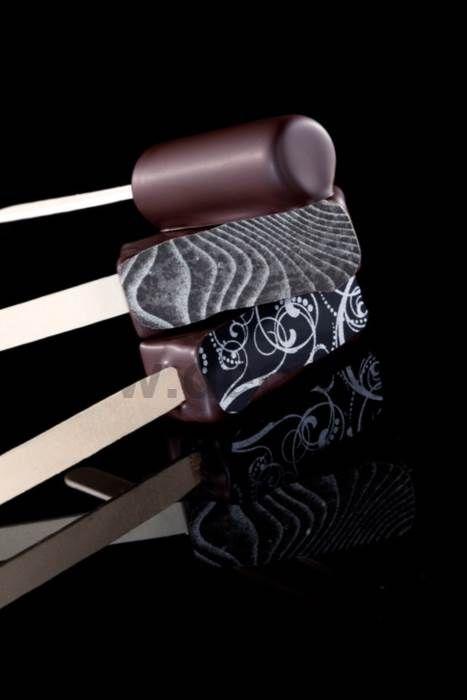 Stampi per decorazione gelati ricoperti. con gli stampi decoStick sarà facilissimo ottenere #ghiaccioli o #gelati