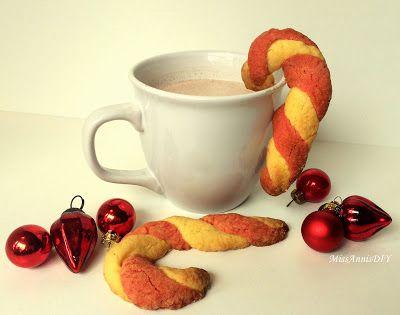 Miss Anni's DIY: Zuckerstangen Plätzchen. Der perfekte Start in die Weihnachtszeit! Lässt sich auch schön verschenken!