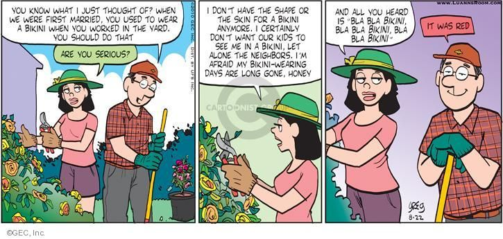 Find luann comic strip the