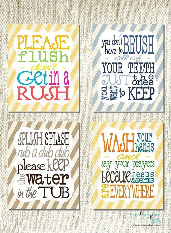 Bathroom Signs Brush Your Teeth 674 best bathroom redo images on pinterest | bathroom ideas