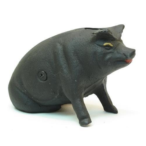 Cast Iron Piggy Bank Piggy bank, Piggy, Cast iron