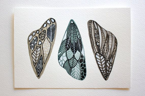 Wings: Watercolor Art, Wings Paintings, Moth Wings, Art Paintings, Butterflies Wings, Art Prints, Butterflies Moth, Moth Watercolor, Rivers Luna