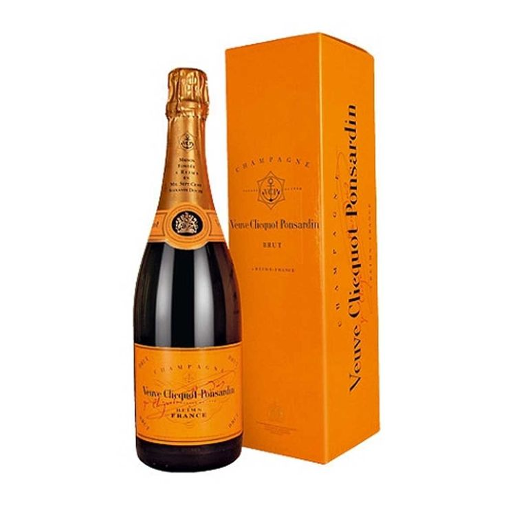 Veuve Clicquot Ponsardin Brut French Champagne 750ml