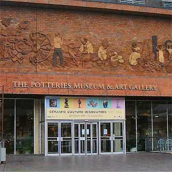 The Potteries Museum, Stoke-on-Trent, Staffordshire, England
