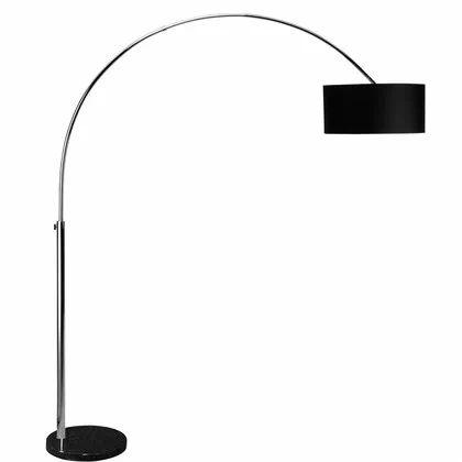 BOW állólámpa 200cm fekete