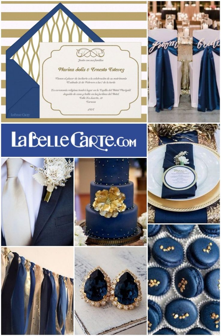 Invitaciones de boda, Invitaciones para boda, Fiesta azul y dorado, boda azul marino y dorado Para Más Info Visita: www.LaBelleCarte.com Online wedding invitations, Online wedding cards, wedding ideas, Navy blue and gold wedding, Navy blue and gold wedding ideas, Navy blue and gold wedding party For More Info Visit: www.LaBelleCarte.com/en
