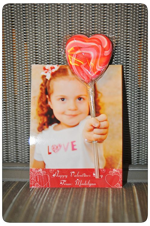 Might do this Valentine again this year since my daughter is now in kindergarten and we did this one in preschool. My card was featured on the frugal girls blog in Feb. of 2011 and it has the directions as well :)