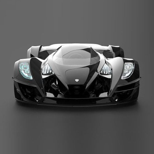 Very good looking car for a game, great concept car!