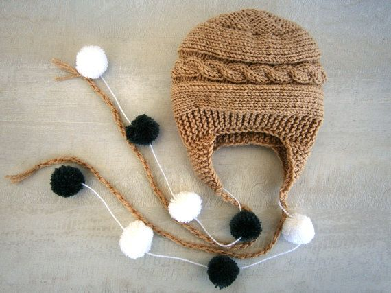 Newborn Baby Boy Hat Baby Boy Photo Prop Hat by PrettyBagsByMia