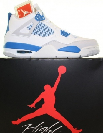 Air Jordan 4 Retro 2012 Estas son las Air Jordan 4 - Military Blue  Reedición 2012