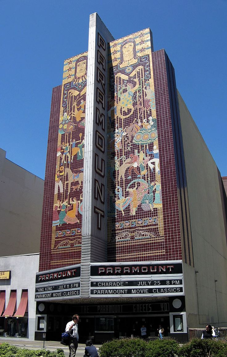 17 Best Images About Paramount Theater Oakland CA On
