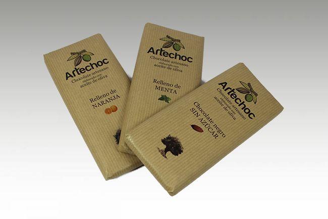 Tabletas rellenas Artechoc 3,50€