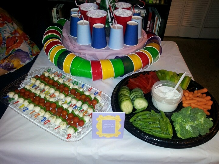 Friends themed bridal shower from the episode the