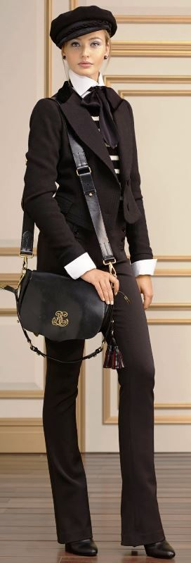 Ralph Lauren Fall 2013 - love this Great Expectations look