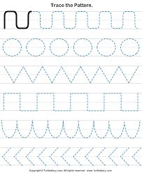 Billedresultat for line pattern worksheets