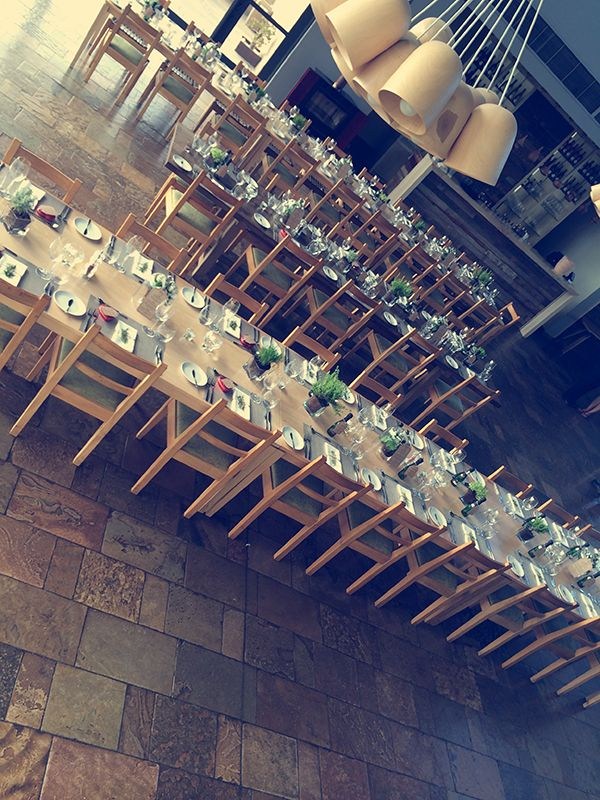 Beautiful modern rustic wedding held at Durbanville Hills