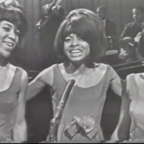 """The Supremes performing """"Come See About Me"""" on Teen Town in 1965. I love the early years because there was no tension between them and they were just having fun, enjoying their newfound fame. ❤️😜"""