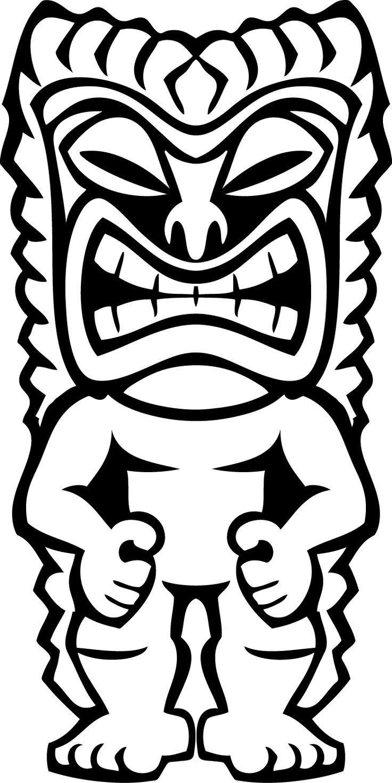24 best tiki masks images on pinterest  luau party tiki