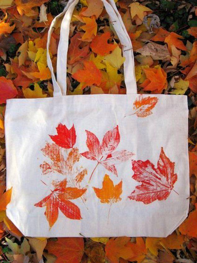 15 Dekorationsideen aus Blättern, die alle Farben des Herbstes zu Ihnen nach Hause tragen