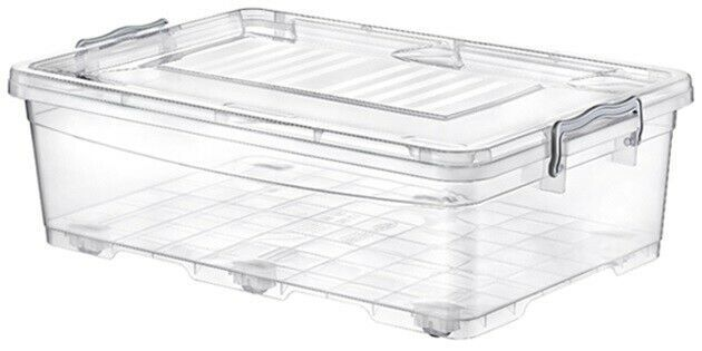 Litre Clear Stackable Under Bed Storage