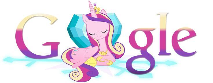 Princess Cadence Google Logo [Install guide!] by ThePatrollPL.deviantart.com on @DeviantArt