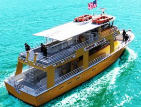 Going on this when we are there The Miss Florida Dolphin Tours @ The Warf- Orange Beach, AL