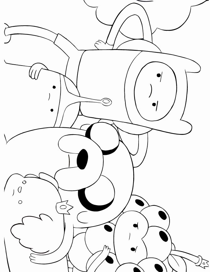 Adventure Time Coloring Book New Cartoon Network Adventure Time