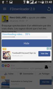 Video Downloader For Facebook- screenshot thumbnail