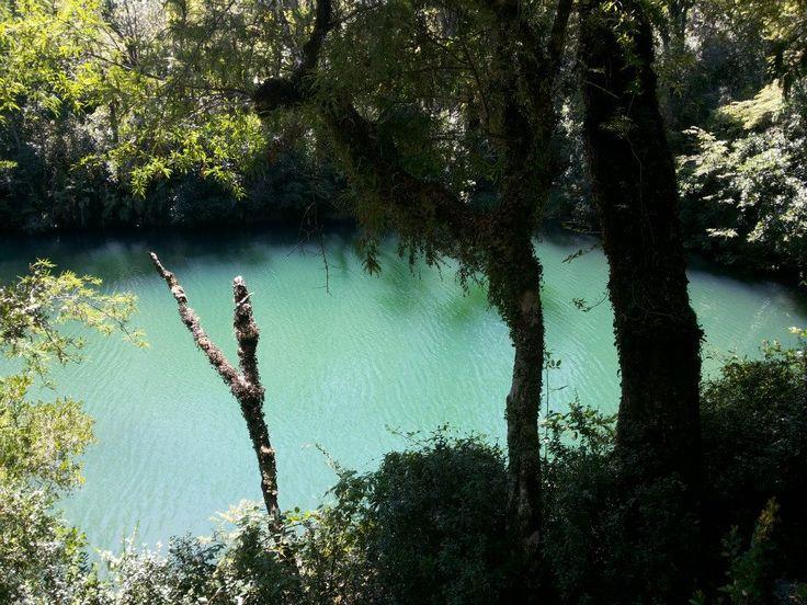 Sendero Laguna verde