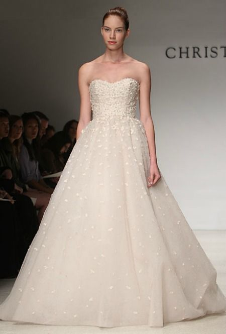 Amazing  Christos wedding gown I would love to be able to plan another wedding and get