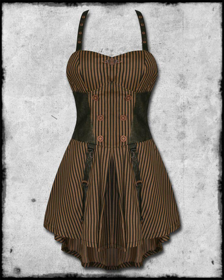 plus size steampunk for women | JAWBREAKER STEAMPUNK INTREPID DRESS Preview
