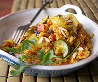 Curried Couscous with Vegetables Recipe